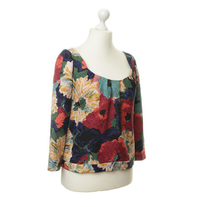 Cacharel top with pattern mix