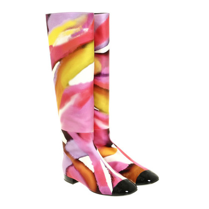 Chanel Boots with a gradient