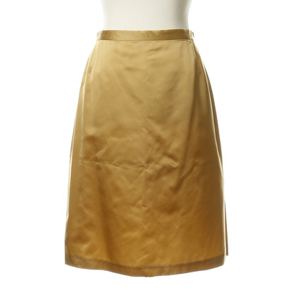 Ella Singh skirt in gold
