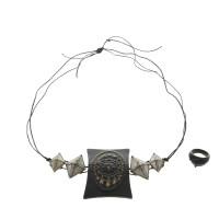 Jean Paul Gaultier Ensemble di catena e anello