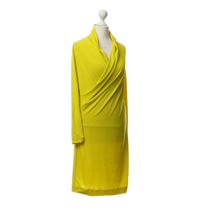 Cos Dress in neon-yellow