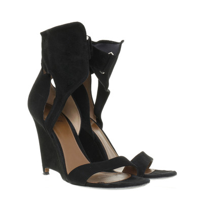 Other Designer Agnona - suede leather pumps with cut out