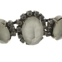 Jean Paul Gaultier Sieraden instellen met grijze stenen