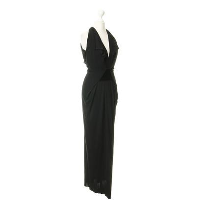 Roland Mouret Halter dress in black