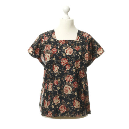 Omen top with flowers print
