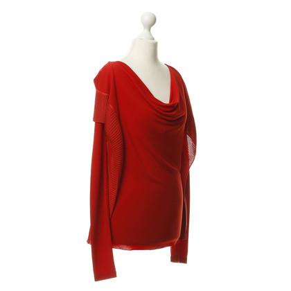 Jean Paul Gaultier Parte superiore in rosso