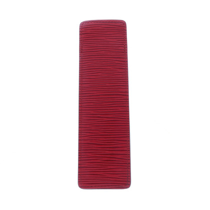 Louis Vuitton Comb case EPI leather Castillian Red