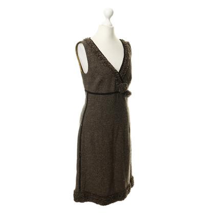Laurèl Schede jurk met decoratieve bekleding