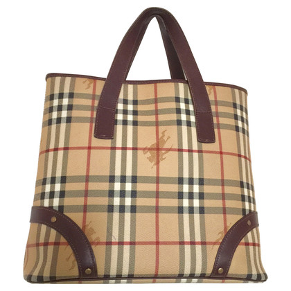 Burberry Bag with check pattern