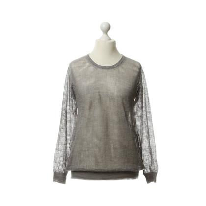 Closed Pullover in maglia grigio