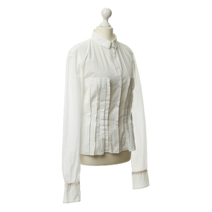 Wunderkind Blouse with wrinkles decoration
