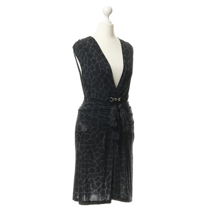 Philipp Plein Patroon Jersey jurk