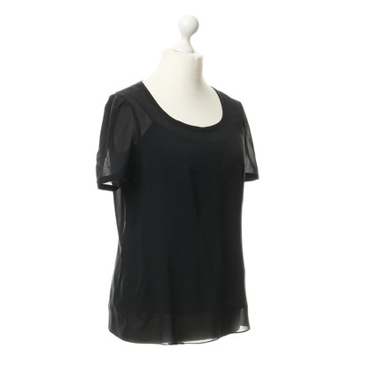 DKNY Transparent top with under top