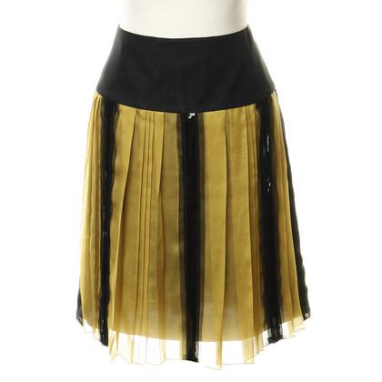 Philosophy di Alberta Ferretti Silk skirt with sequins