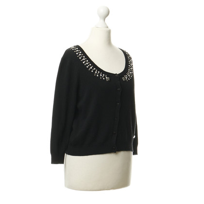 Blumarine Jewel trim Cardigan
