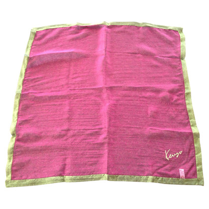 Kenzo Iridescent silk scarf