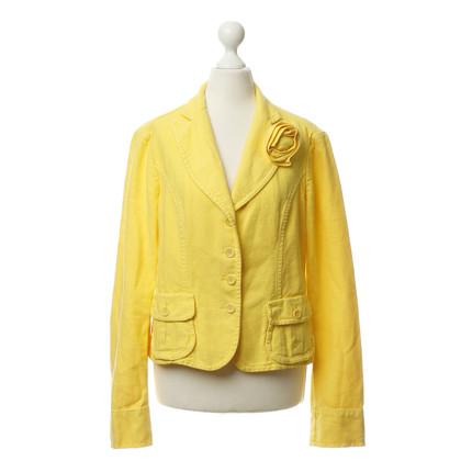 René Lezard Blazer in yellow