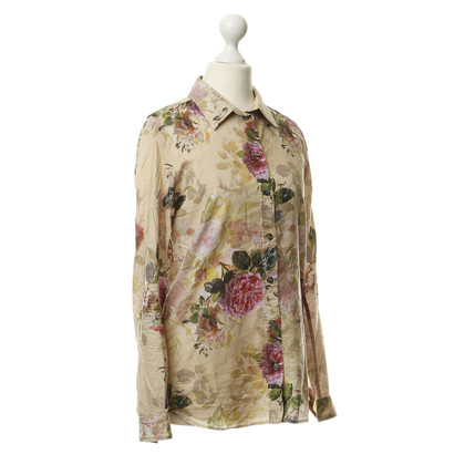 Paul & Joe Flower-print blouse