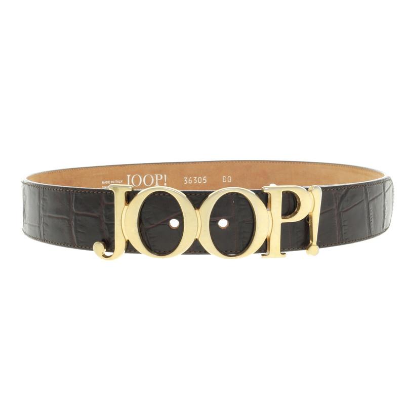 joop belt with logo buckle buy second hand joop belt with logo buckle for. Black Bedroom Furniture Sets. Home Design Ideas