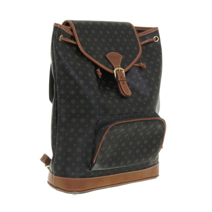 Pollini Backpack leather