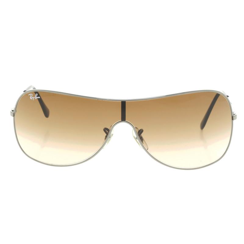 ray ban sonnenbrille mit braunem glas second hand ray. Black Bedroom Furniture Sets. Home Design Ideas