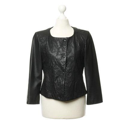 Armani Lamb leather jacket with Palm pressure