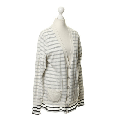Marc by Marc Jacobs Gestreifte Strickjacke
