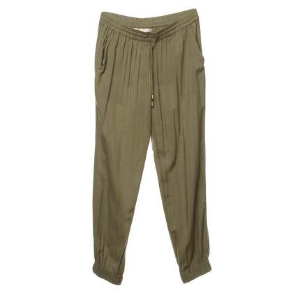 Michael Kors Trousers in olive green