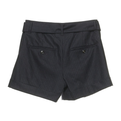 Marc Cain Shorts in dark blue with Pinstripe