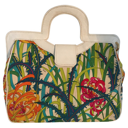 Emilio Pucci Tote with flower pattern