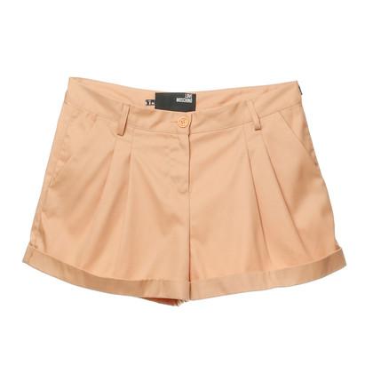 Moschino Shorts mit Bundfalten