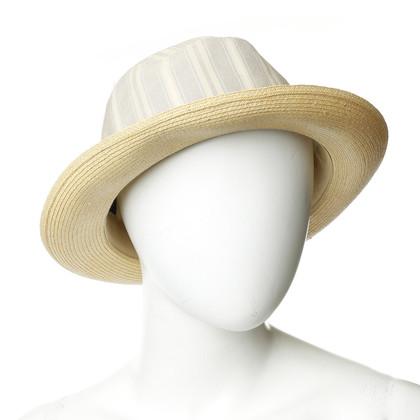 Andere Marke Borsalino - Hut mit Material-Mix