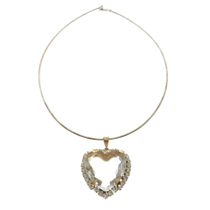 Other Designer Silver necklace with heart pendant