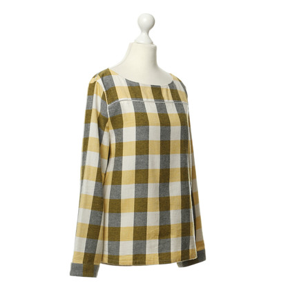 A.P.C. Camicia in cotone con Plaid