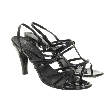 Hugo Boss Sandals patent leather