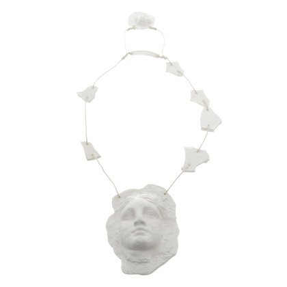 Jean Paul Gaultier Chain in plaster look