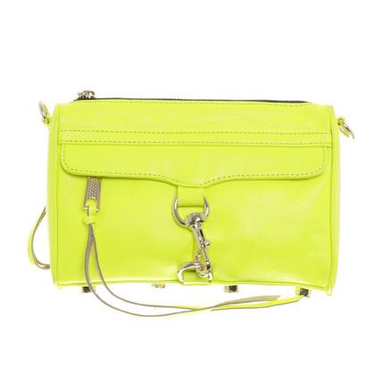 """Rebecca Minkoff Neon geel """"Mac Mini"""""""