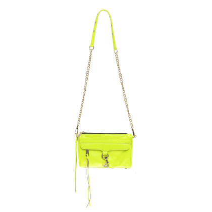 "Rebecca Minkoff Neon yellow ""Mac Mini"""