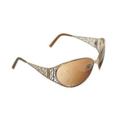 Fendi Gold sunglasses
