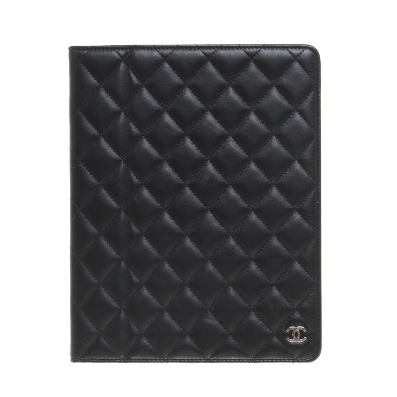 Chanel IPad sleeve quilted look