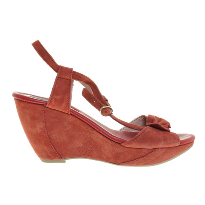 Other Designer VIC - suede wedges