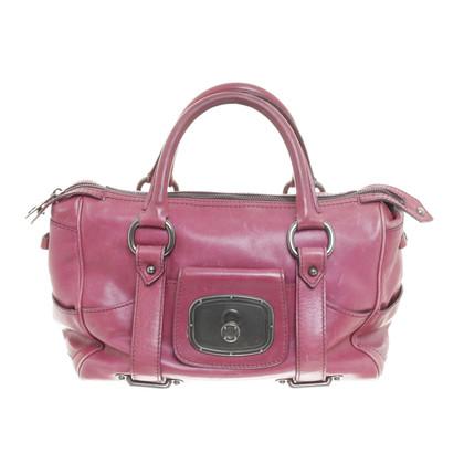 Céline Handbag purse in magenta