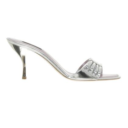 Louis Vuitton Sandalo tacco alto in argento