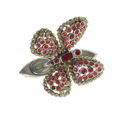 Jean Paul Gaultier Brosche mit Schmetterling