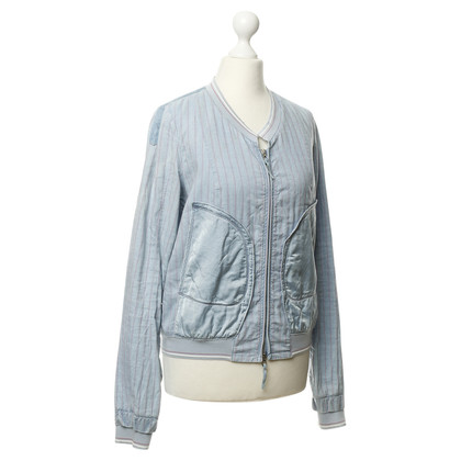 Marithé et Francois Girbaud Blouson jacket with stripes