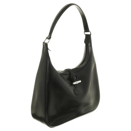 Longchamp Black shoulder bag