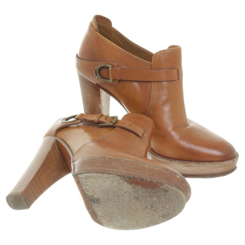 Ralph Lauren Ankle boots in Cognac