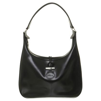 Longchamp Zwarte schoudertas