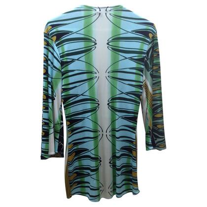 Sky Silk tunic