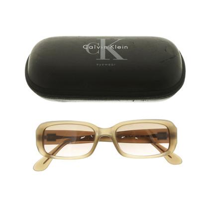 Calvin Klein Zonnebrillen in beige